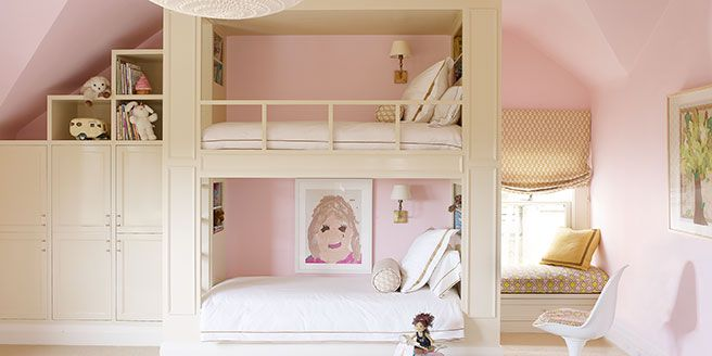 Yes, bunk beds can be incredible chic and well-designed. Here's proof.