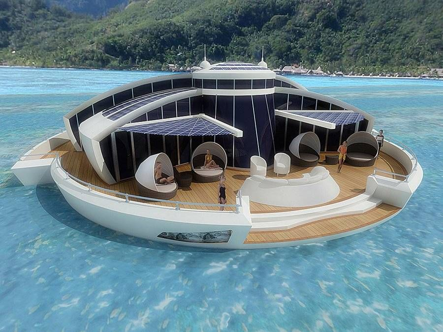 Would You Live In A Floating Vacation Home?