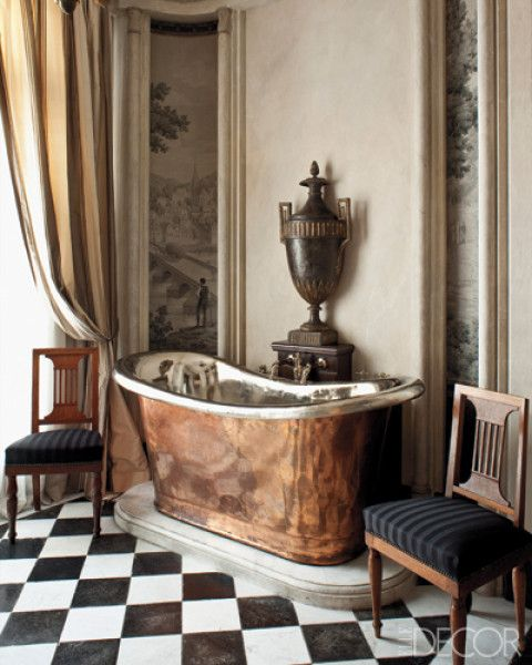 The most comfortable baths have one thing in common for Waterworks copper tub