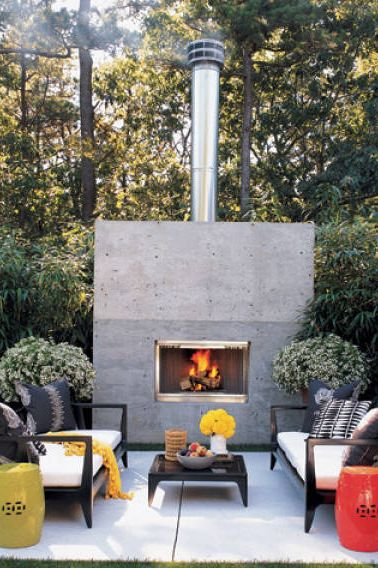 25 Gorgeous Outdoor Fireplace Ideas, Best Outdoor Fireplaces For Heat