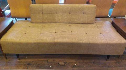 Brown, Room, Interior design, Floor, Furniture, Couch, Hardwood, Tan, Beige, Rectangle,