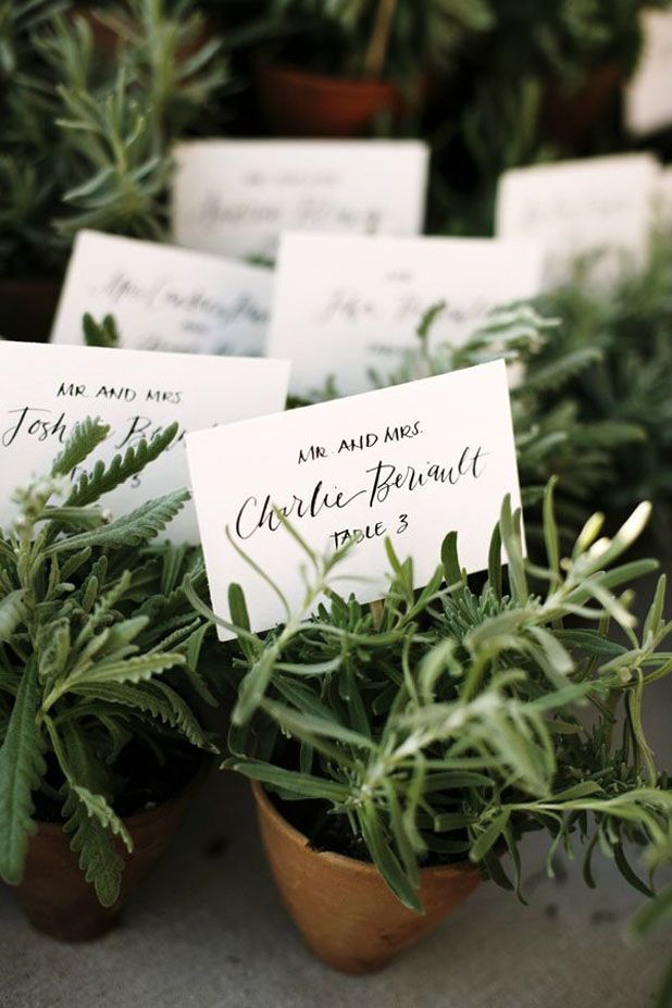 8 Chic Place Card Ideas You've Never Seen Before