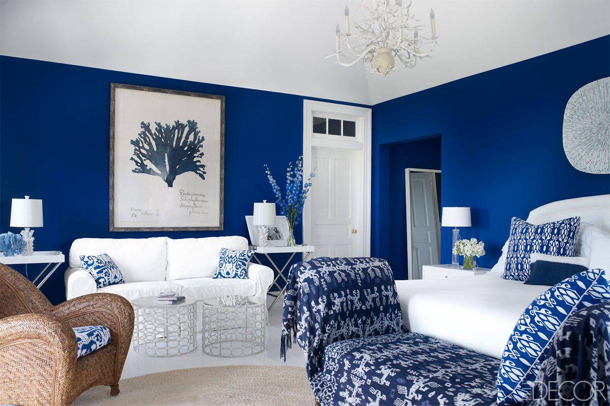 50 blue room decorating ideas how to use blue wall paint decor rh elledecor com living room ideas with blue furniture living room ideas with blue furniture