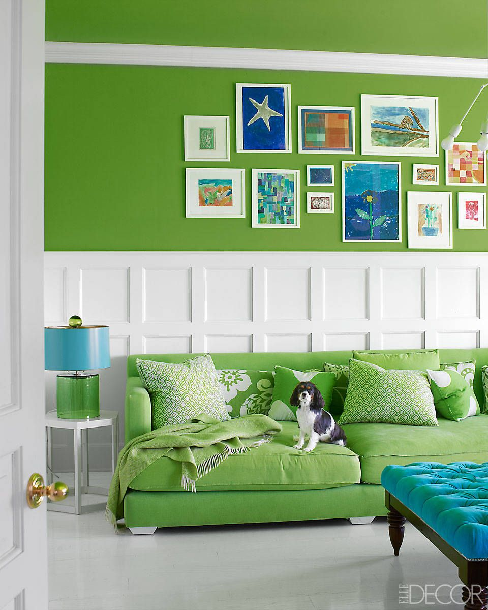 20 best green rooms green paint colors and decor ideas - Green Paint Colors For Living Room