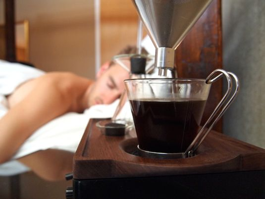Your New Dream Alarm Clock Will Also Make You Coffee