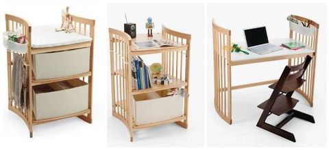 Convertible Kids Furniture Furniture That Grows With Child - Table converts to bed