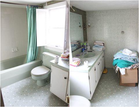 hometalk bathroom before