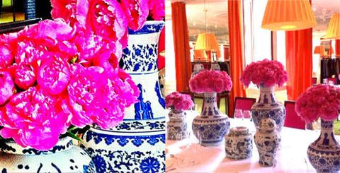 Petal, Room, Lampshade, Flower, Pink, Magenta, Interior design, Interior design, Purple, Lavender,