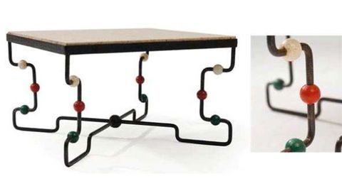 Table, Line, Rectangle, Parallel, Wood stain, Coquelicot, Outdoor table, Coffee table,