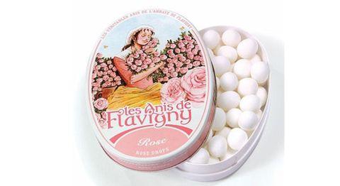 Abbaye de Flavigny tin with rose drop candies