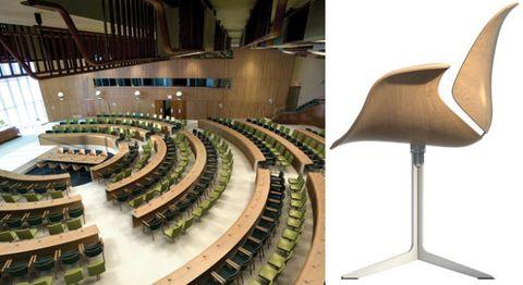 Interior design, Hall, Hardwood, Plywood, Auditorium, Convention center,