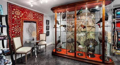 Interior design, Room, Floor, Ceiling, Display case, Chair, Interior design, Display window, Picture frame, Collection,