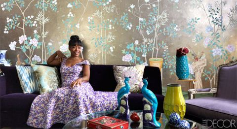 Tracy Reese's New York Living Room