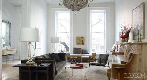 Room, Interior design, Floor, Table, Furniture, Home, Lamp, Flooring, Interior design, Lampshade,