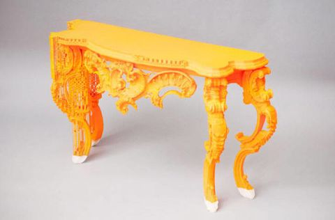 Yellow, Orange, Amber, Rectangle, Natural material, Peach, Creative arts, Carving, Sofa tables, Coffee table,
