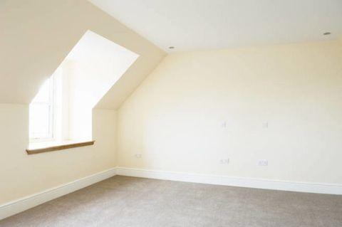 Floor, Property, Flooring, Room, Wall, Ceiling, Interior design, Fixture, Paint, Beige,
