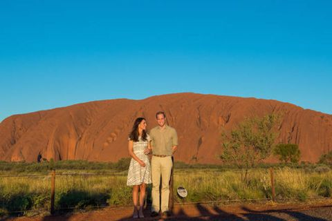 Dress, Hill, People in nature, Terrain, Formation, Love, Prairie, Badlands, Plateau, Romance,