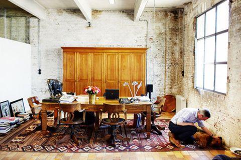 Dries Van Noten Office Dries Van Noten Desk