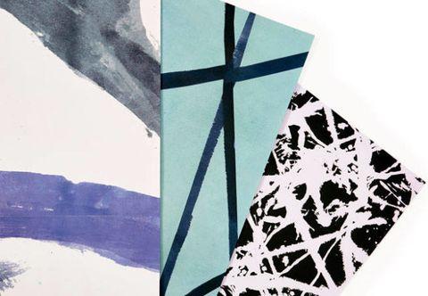 Pattern, Art, Triangle, Teal, Visual arts, Illustration, Painting, Motif, Creative arts, Pattern,