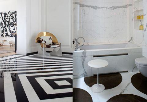 Best Black And White Tile Pierre Yovanovitch Designs