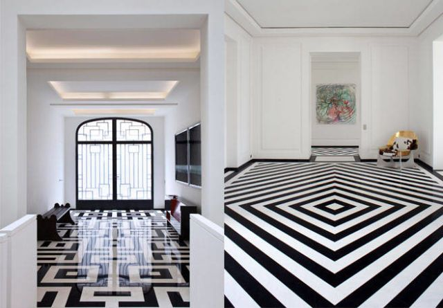 Best Black And White Tile Pierre Yovanovitch Designs