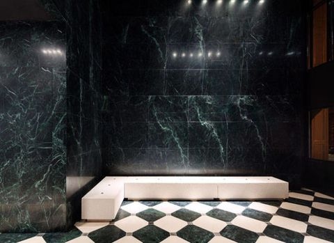 Floor, Flooring, Tile, Wall, Darkness, Rectangle, Composite material, Marble, Space, Midnight,