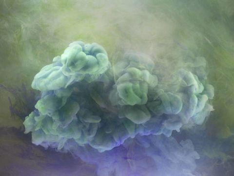 Blue, Atmospheric phenomenon, World, Lavender, Paint, Painting, Watercolor paint, Art paint,