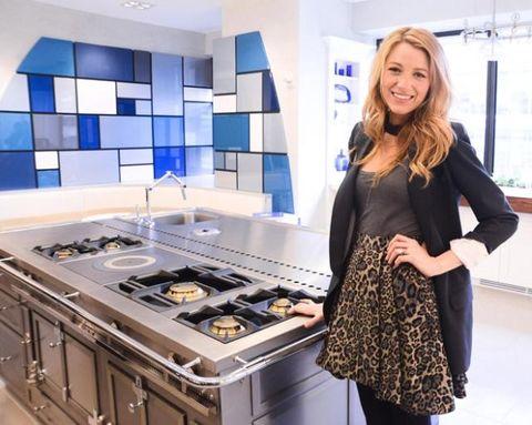 Blake Lively On Designing Her New Kitchen