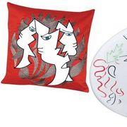 Carmine, Art, Illustration, Fictional character, Drawing, Circle, Graphics, Artwork, Line art, Painting,