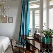 Interior design, Room, Bed, Green, Wood, Property, Floor, Textile, Bedding, Wall,
