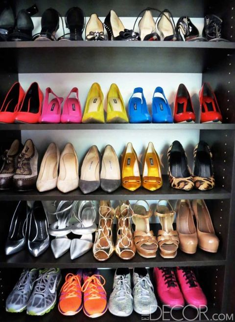 Footwear, Product, Yellow, Shoe store, Retail, White, Collection, Light, Orange, Carmine,