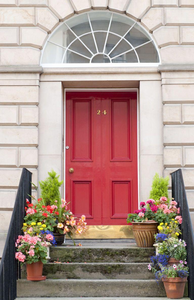 20 fun front door colors paint ideas for your house s front door rh elledecor com