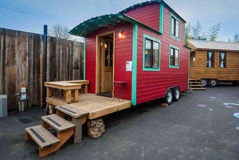 tiny houses,  caravan, tiny house hotel