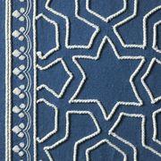 Pattern, Electric blue, Visual arts, Design, Symmetry, Motif, Pattern, Rug, Creative arts,