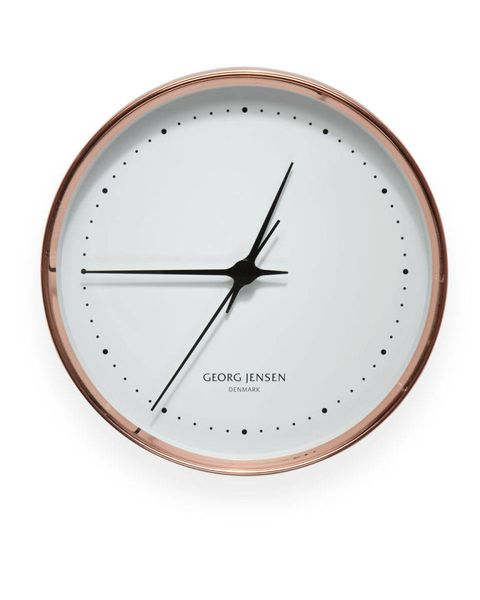 Line, Circle, Home accessories, Clock, Beige, Peach, Tan, Measuring instrument, Number, Still life photography,