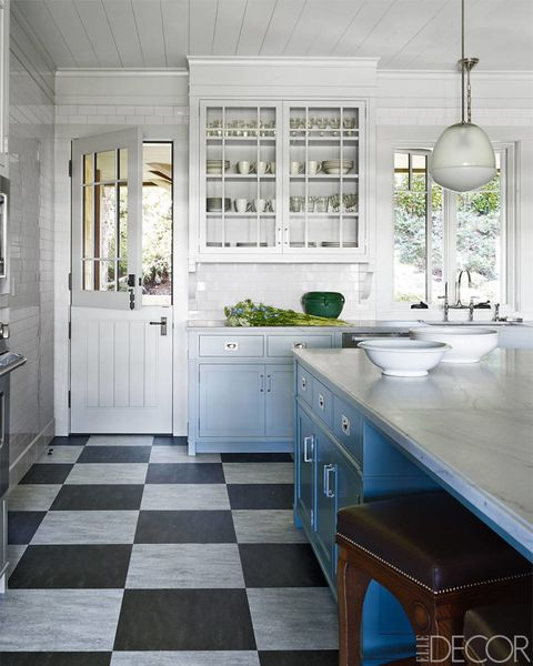 Cottage Kitchen Flooring Continued: 30 Best White Kitchens Design Ideas