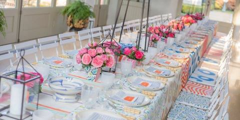 David Stark Events How To Paint Table Linens