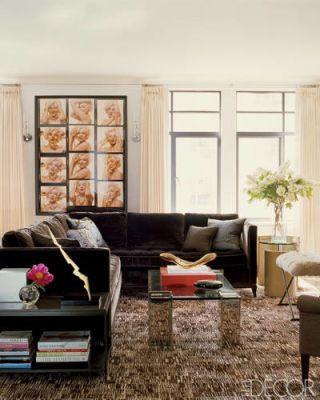 A Mod Manhattan Apartment