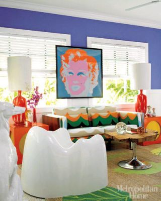 A Home with Fearless Color