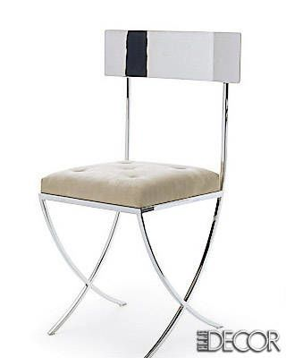 ALISA VANITY CHAIR BY MADELINE STUART COLLECTION FROM JERRY PAIR