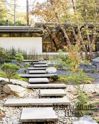 A Garden Set in stone