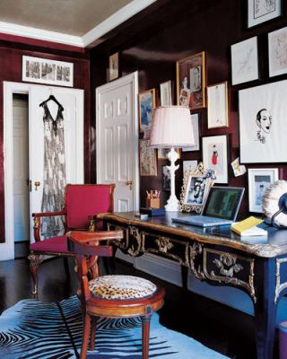Amy Fine Collins' Office/Dressing Room