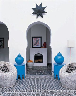 Moroccan Home Decor And Interior Design   Caitlin Dowe Sandes Home In  Marrakech