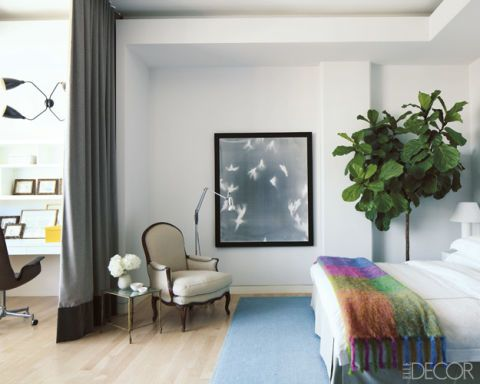 A Colorful And Simple Tribeca Loft