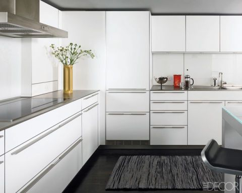 40 Best White Kitchens Design Ideas   Pictures Of White Kitchen Decor    ELLEDecor.com