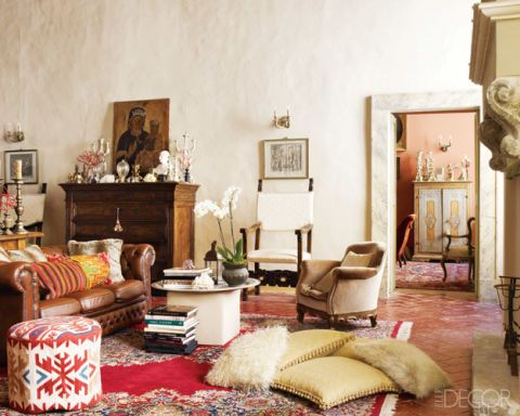 An Italian Apartment with a Rich History