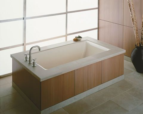 Designed For Two Person Bathing Kohler S Tea Has A 24 Inch Deep Basin True Soaking Experience And Is Made To Last With Durable Cast Iron