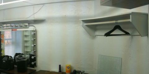 Dressing Room Before