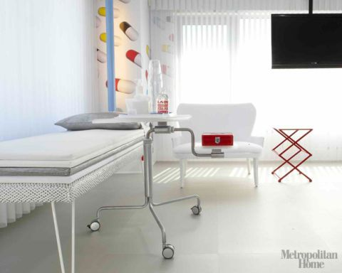 The Look: Hospital Room Chic