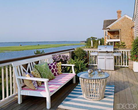 A Colorful Hamptons Home